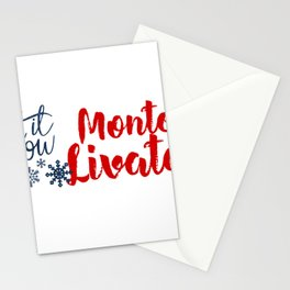 Monte Livata and Winter Sports Stationery Cards