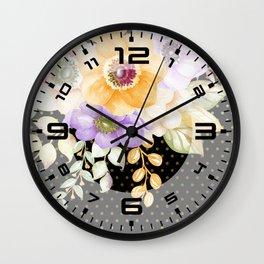 Flowers bouquet #36 Wall Clock