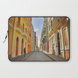 Streets of Old San Juan Laptop Sleeve