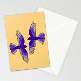 Purple Martins Stationery Cards