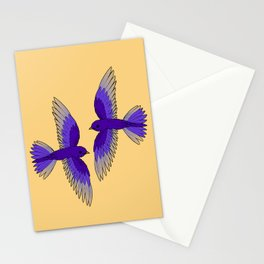 Purple Martins Stationery Cards
