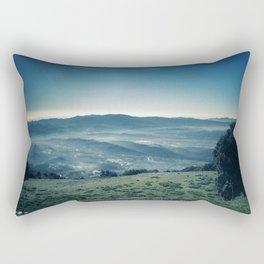 Discovering new Heights Rectangular Pillow