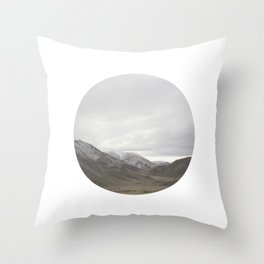 Lindis Pass II Throw Pillow