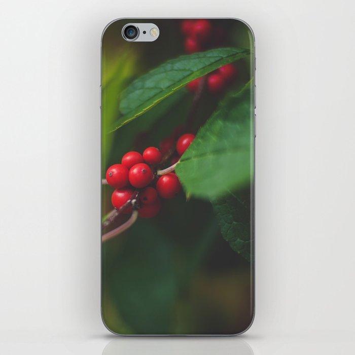 Red Berries iPhone Skin
