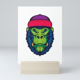 Cool Gorilla Mini Art Print