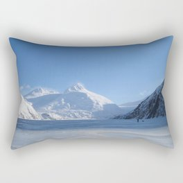 Portage Glacier Rectangular Pillow