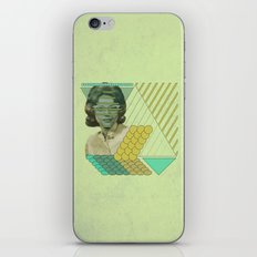 trying to hide behind regularity iPhone & iPod Skin