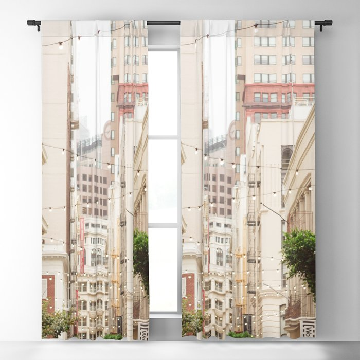San Francisco Daydreaming in Union Square Blackout Curtain