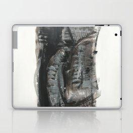 Black fantasy Laptop & iPad Skin