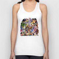 dragonball z Tank Tops featuring DragonBall Z - Insane amount of Characters by Mr. Stonebanks