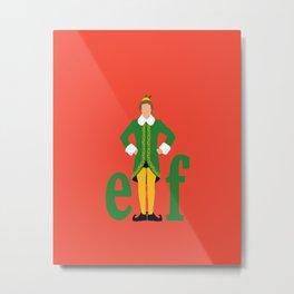 Buddy the Elf Metal Print