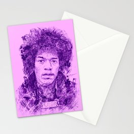 27 Club - Hendrix Stationery Cards