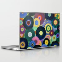 record Laptop & iPad Skins featuring Record High by Femi Ford