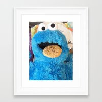 cookie Framed Art Prints featuring Cookie by rosscaughersphotography