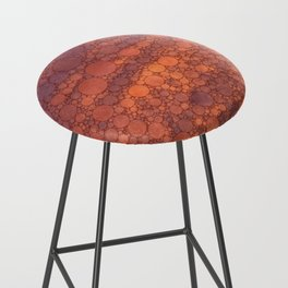 Percolated Sunset in Warm Tones Bar Stool