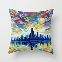 Calm After The Storm 2 Throw Pillow