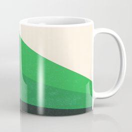 Stripe V Green Fields Coffee Mug