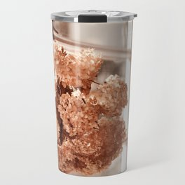 Tethered hydrangea or hortensia Travel Mug