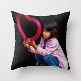 Will Love be Kind to Me? Throw Pillow