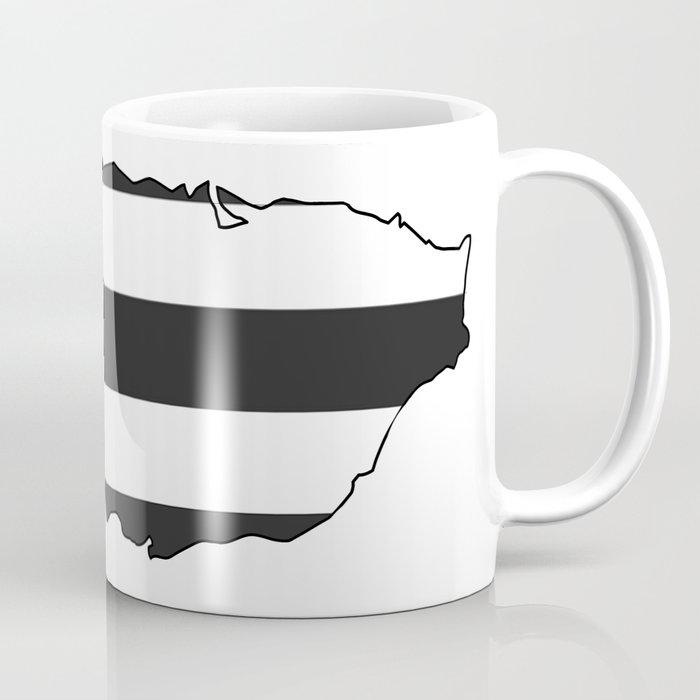Mug Coffee By Black Puerto Rico Flag Artbylilyvega zUSMVp