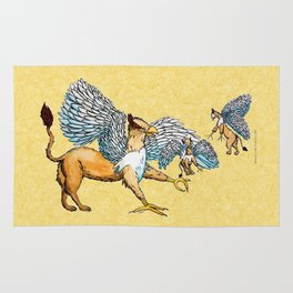 Griffins Family  Rug