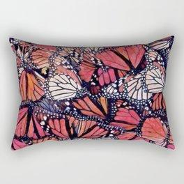 Monarch Butterflies II Rectangular Pillow