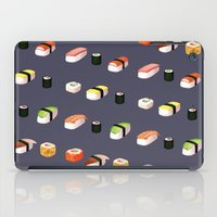 sushi iPad Cases featuring Sushi by Skrich