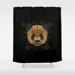 Panda Face Shower Curtain