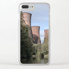 The Ironbridge Power Station Clear iPhone Case