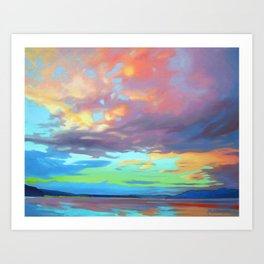 Sky Opus by Amanda Martinson Art Print