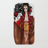mulan iPhone & iPod Cases featuring Mulan by artwaste