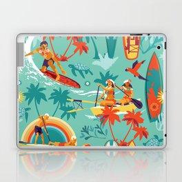 Hawaiian resort Laptop & iPad Skin