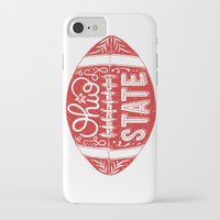 ohio state iPhone & iPod Cases featuring Ohio State Football by Kasi Turpin