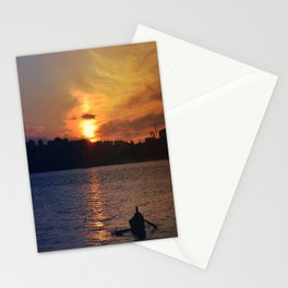 Sail your boat Stationery Cards