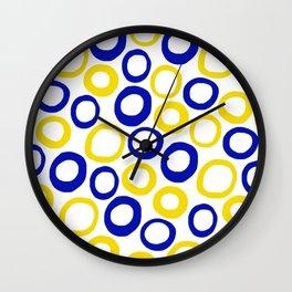 Calamari Hoops 01 Wall Clock