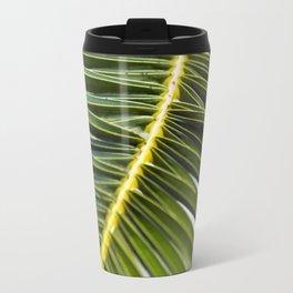 Green Palm-Leafes of Sicily Travel Mug