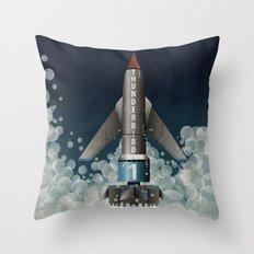 Thunderbird 1 Throw Pillow