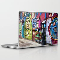 street art Laptop & iPad Skins featuring Street Art by Photos By Healy