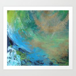 ABSTRACT COLORS 6 Art Print