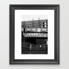 Surface Tension: Castlebank Street Framed Art Print