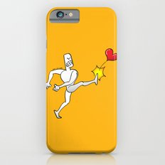 Mad Man Kicking a Heart iPhone 6s Slim Case