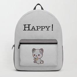 Happy Kitten Kawaii Backpack