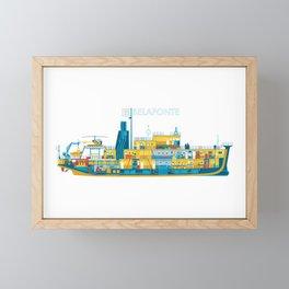 BELAFONTE - The Life Aquatic with Steve Zissou Framed Mini Art Print