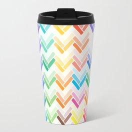Colourful pattern Travel Mug