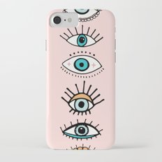 eye illustration print iPhone 7 Slim Case