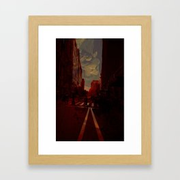 Cities and Desire II Framed Art Print