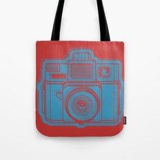 I Still Shoot Film Holga Logo - Red & Blue Tote Bag