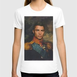 Ronaldo Classical Regal General Painting T-shirt