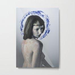 Inner Reflection Metal Print