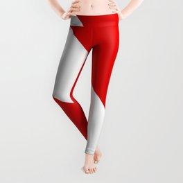 Diving: Diving Flag Leggings